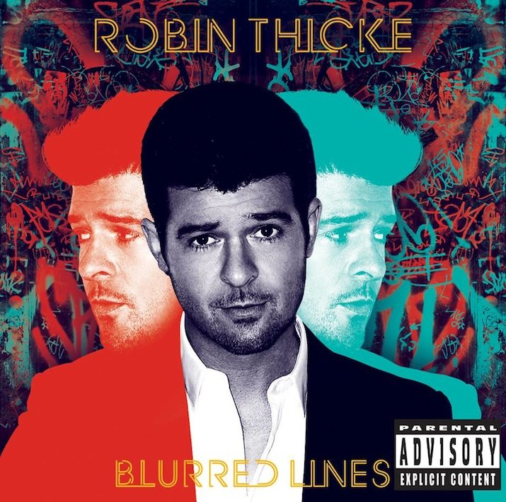 Robin Thicke's 'Blurred Lines' named UK's top download of the decade