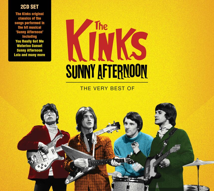 The Kinks set for Best Of album – 'Sunny Afternoon' out today