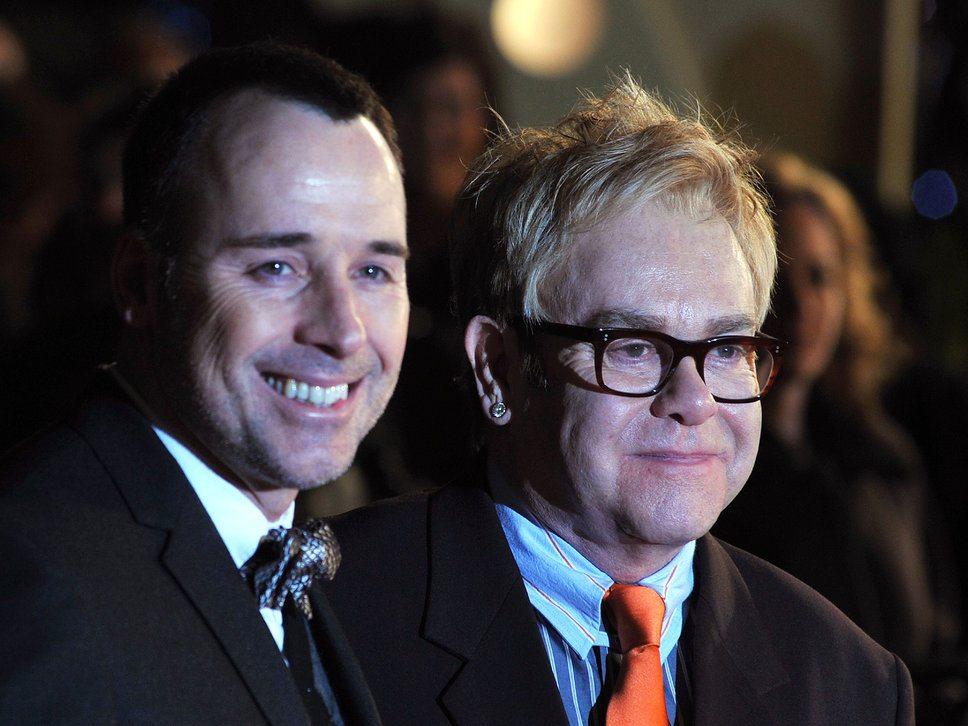 Sir Elton John and David Furnish to marry