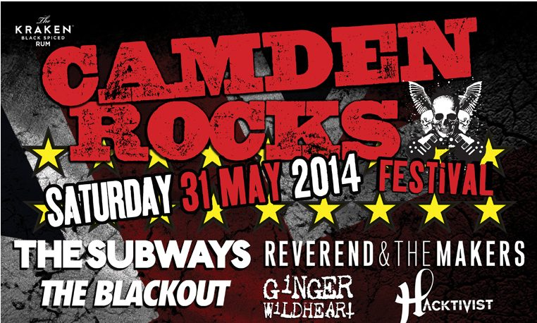 Johnny Borrell & Zazou, Fearless Vampire Killers, Devil Sold His Soul & others join Camden Rocks