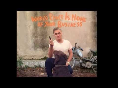 Morrissey once again in search of a new record label