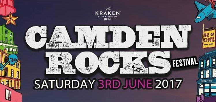 Camden Rocks Festival Announce Stage Times & Full Line Up For June 3rd   @CamdenRocksFest