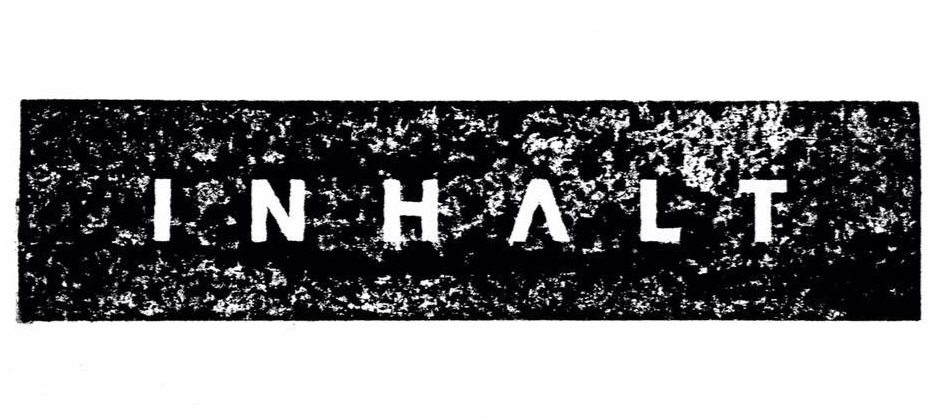 INHALT Announce 'Part Time Punks Sessions' | First Single 'Walking On Glass' | #INHALT