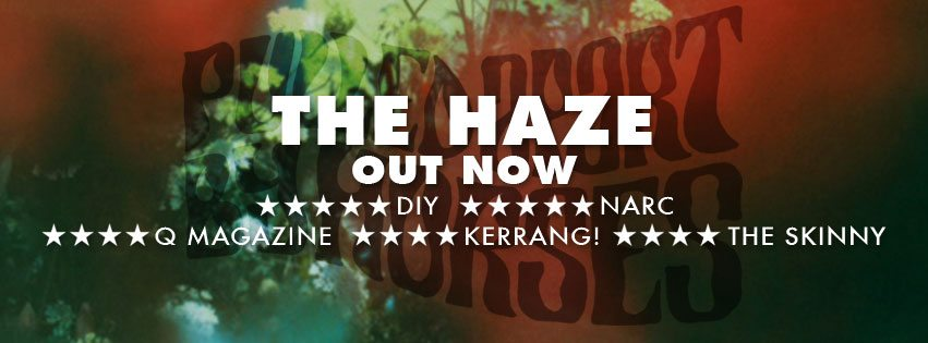 Pulled Apart By Horses | New album 'The Haze' | Released Today Via Caroline International | @PABH