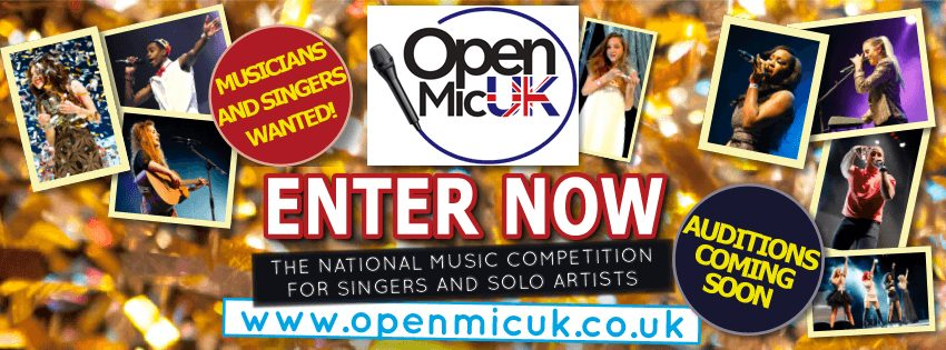 Music Competition   Open Mic UK 2017 Audition Dates Released   @OPENMICUK