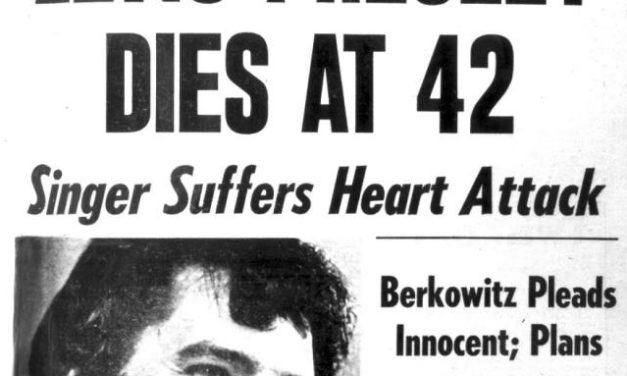 #MusicMoments | Elvis Presley Dies of a Heart Attack, 1977