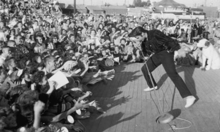 #MusicMoments | Elvis Presley Onstage at the Fairgrounds in Tupelo on September 26, 1956