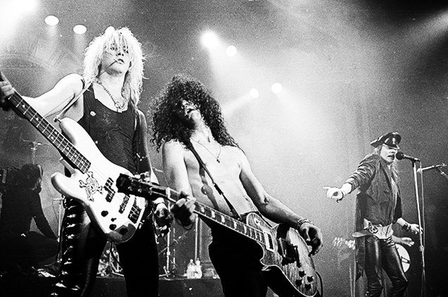 #MusicMoments | Guns N' Roses Perform at the Ritz, 1988 in New York City