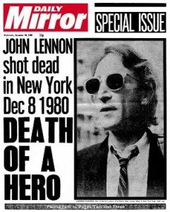 #MusicMoments | John Lennon is Shot Dead in New York, December 8th, 1980