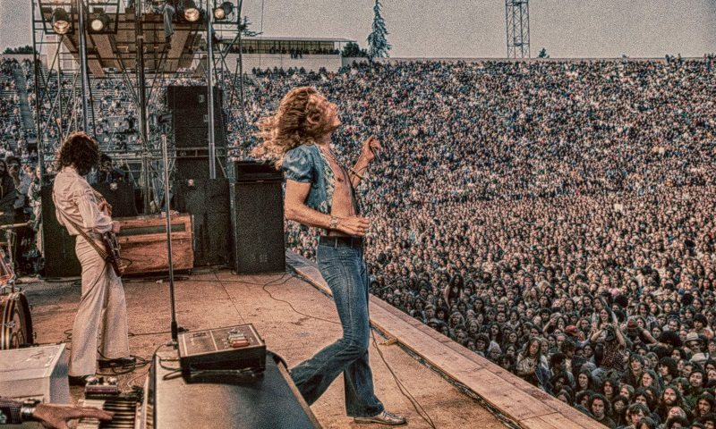 #MusicMoments | Led Zeppelin at Kezar Stadium, San Francisco, California