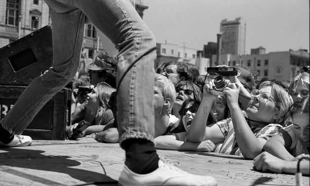 #MusicMoments | Ramones Free Concert in SF Civic Centre 1979