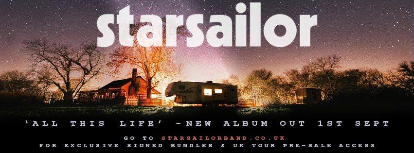 Starsailor Release New Single 'All This Life' | New Album out September 1st | October UK Headline Tour