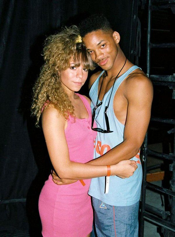 #MusicMoments: 18 year old Mariah Carey & 19 year old Will Smith at the 1988 KIIS FM Endless Summer Jam. #TheMusicSite