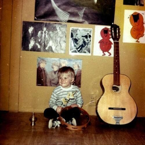 #MusicMoments: Childhood photo of Kurt Cobain. #TheMusicSite