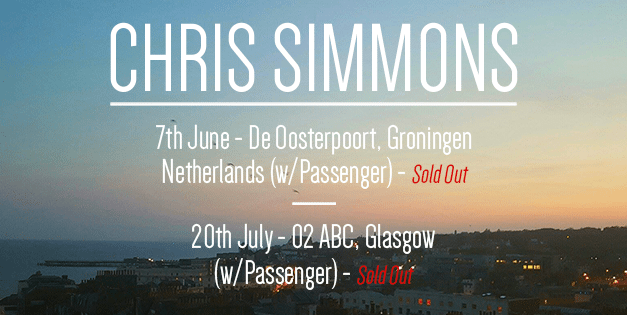 Chris Simmons to Release Brand New Single 'Gold Dust' on August 25th