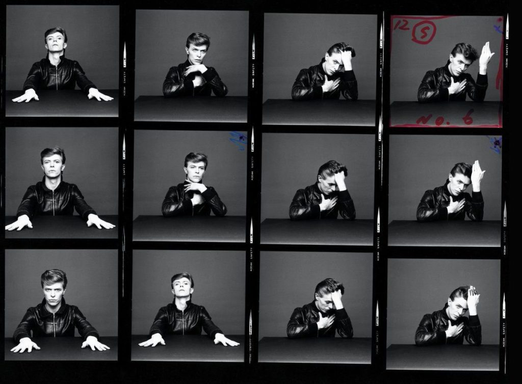 #MusicMoments: Cover shots for David Bowie's 'Heroes', 1977. #TheMusicSite