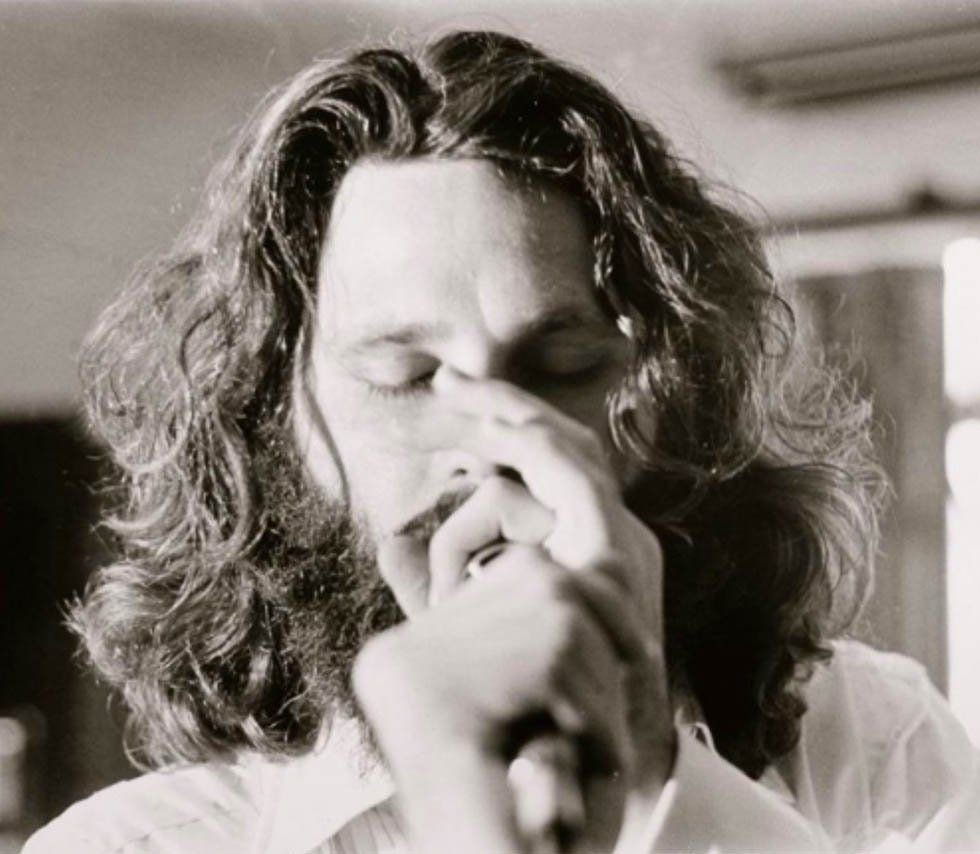 #MusicMoments: Jim Morrison, recording 1971's L.A. Woman. #TheMusicSite