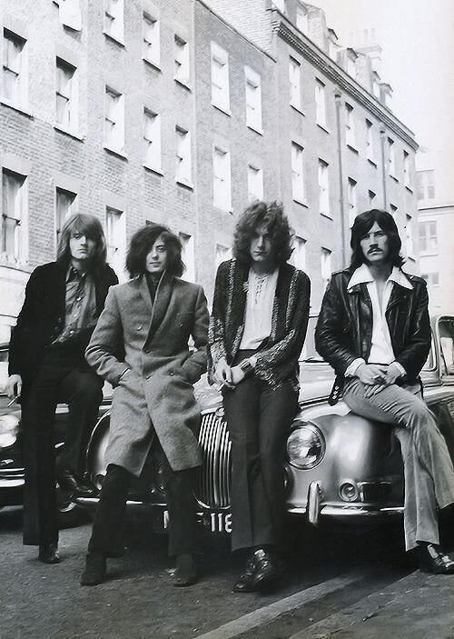 #MusicMoments: Led Zeppelin, 1968. #TheMusicSite