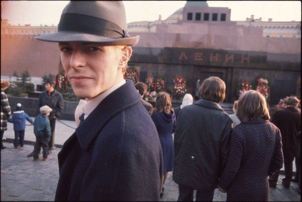 #MusicMoments: David Bowie at Red Square in Moscow, 1973. #TheMusicSite