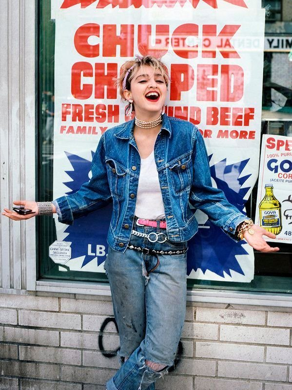 #MusicMoments: Madonna, a year before the release of her first album, 1982. #TheMusicSite