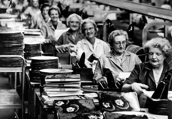 #MusicMoments: Manufacturing The Beatles' Rubber Soul, 1965. #TheMusicSite