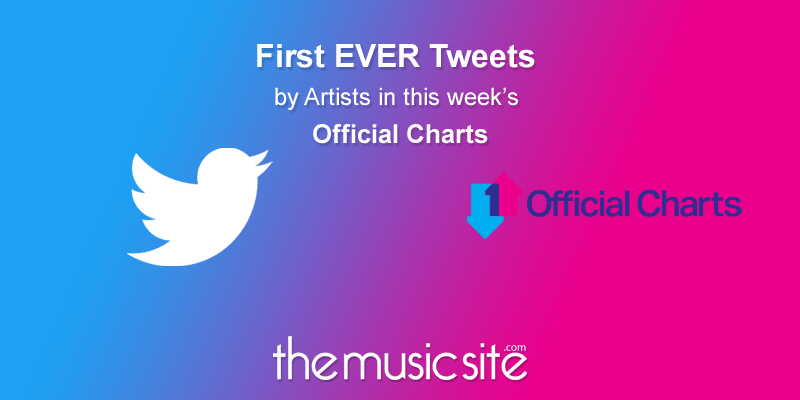 Check out the first EVER Tweets from Artists in this Weeks #OfficialCharts #Top10 (03-09 November 2017)