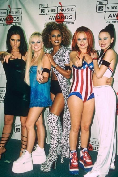 #MusicMoments: Spice Girls, 1990's. #TheMusicSite