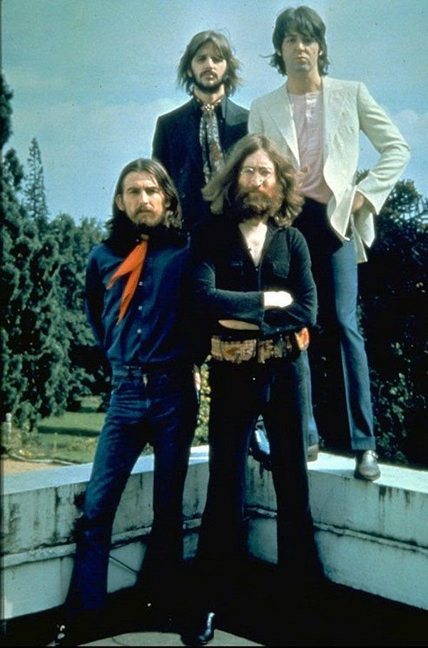 #MusicMoments: The Beatles during their final photo session, 1969. #TheMusicSite