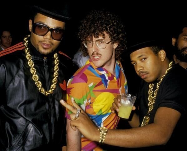#MusicMoments: Weird Al Yankovic & Run DMC. #TheMusicSite