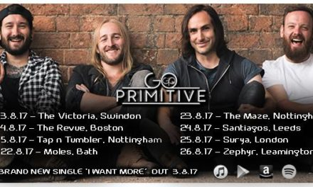 Go Primitive Release Brand New Single 'I Want More' | Playing London's Surya 25th August | @goprimitive
