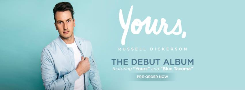 Russell Dickerson Announces Debut Album due via Sony Music | Title Track 'Yours' |