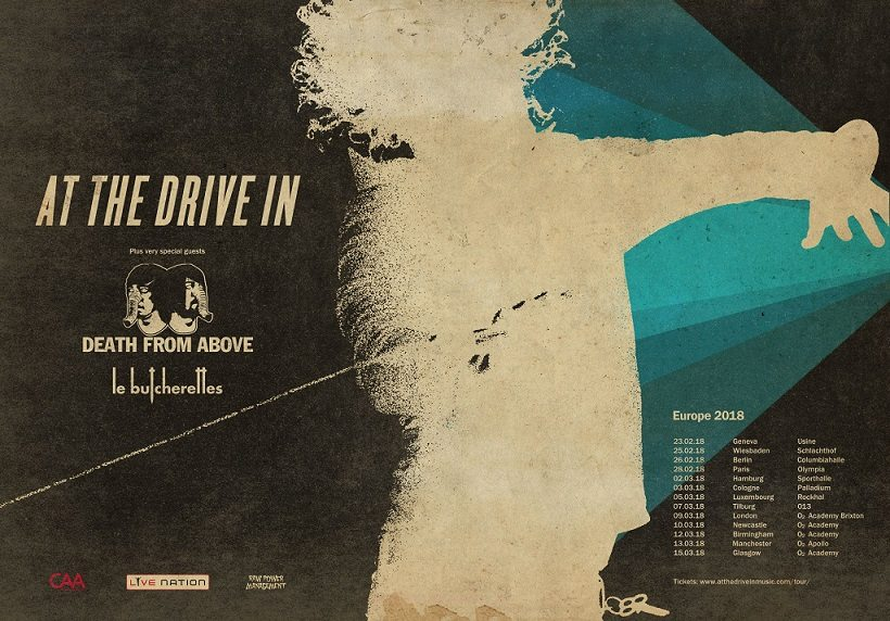 At The Drive In Announce Headline UK Tour for February/March 2018 | @AtTheDriveIn
