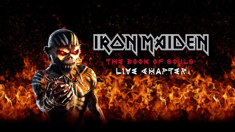 Iron Maiden Announce 'The Book Of Souls' Live Album | To be Released on 17th November