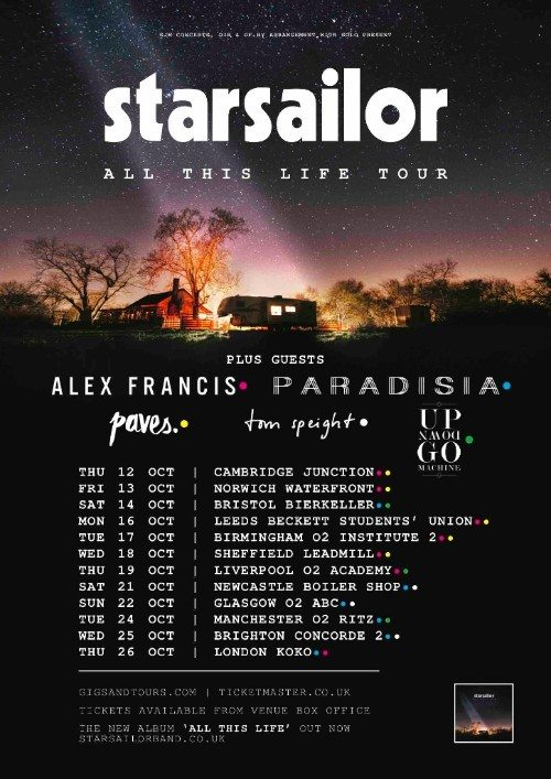 Starsailor - Support Acts