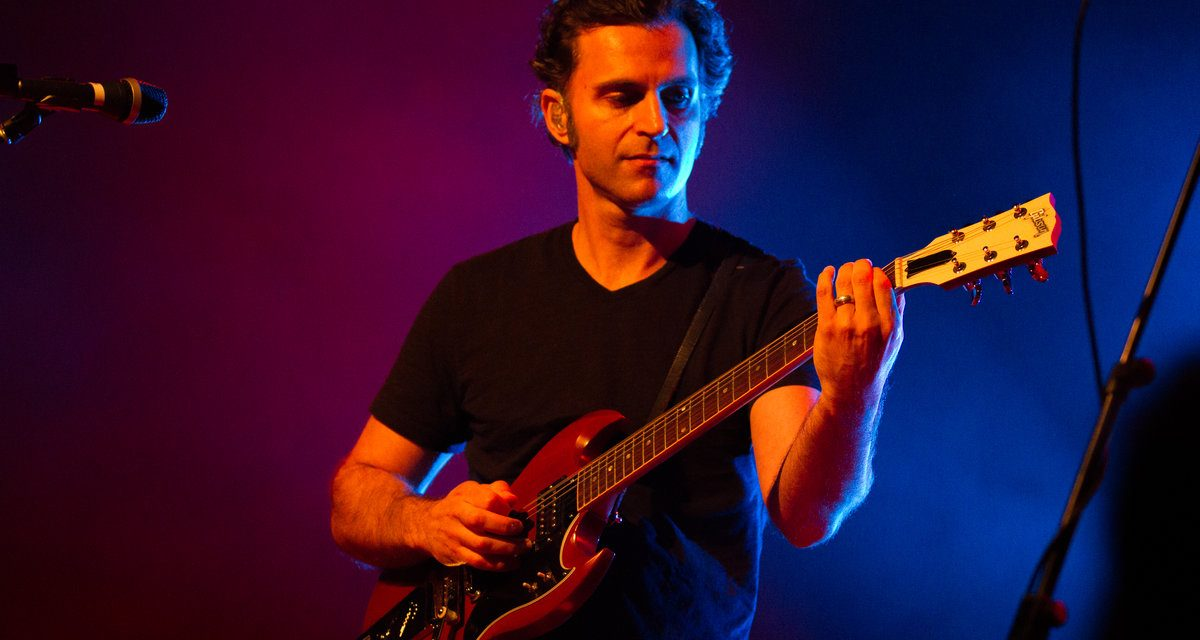 Dweezil Zappa channels Frank in London