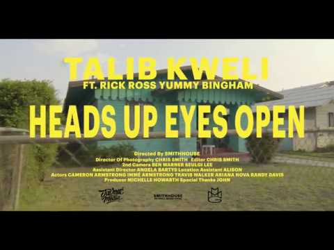 Talib Kweli – Heads Up Eyes Open feat. Rick Ross & Yummy Bingham (Official Music Video)