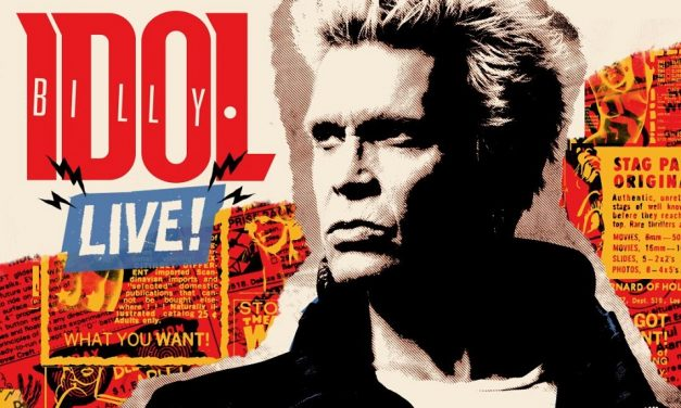 Billy Idol Announces UK and European LIVE! 2018 Tour