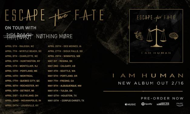 Escape The Fate Release 'Do You Love Me' Lyric Video + UK & US Tour Dates