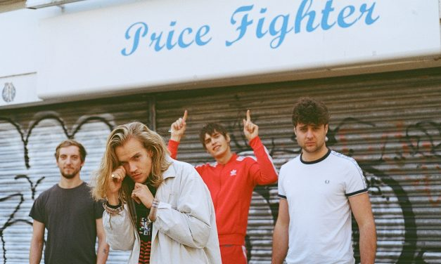 Rosko tell us about their EP 'White Stilettos' and Reading 2017 | @roskoband
