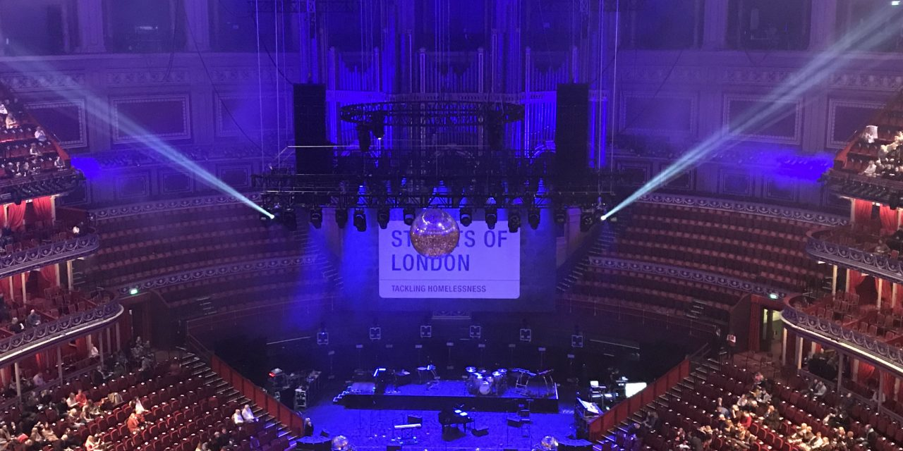Ellie Goulding Headlines Streets of London's Christmas Fundraiser at the Royal Albert Hall | @streetsofl @elliegoulding