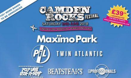 Camden Rocks Festival Returns June 2nd 2018 | Maxïmo Park Confirmed to Headline