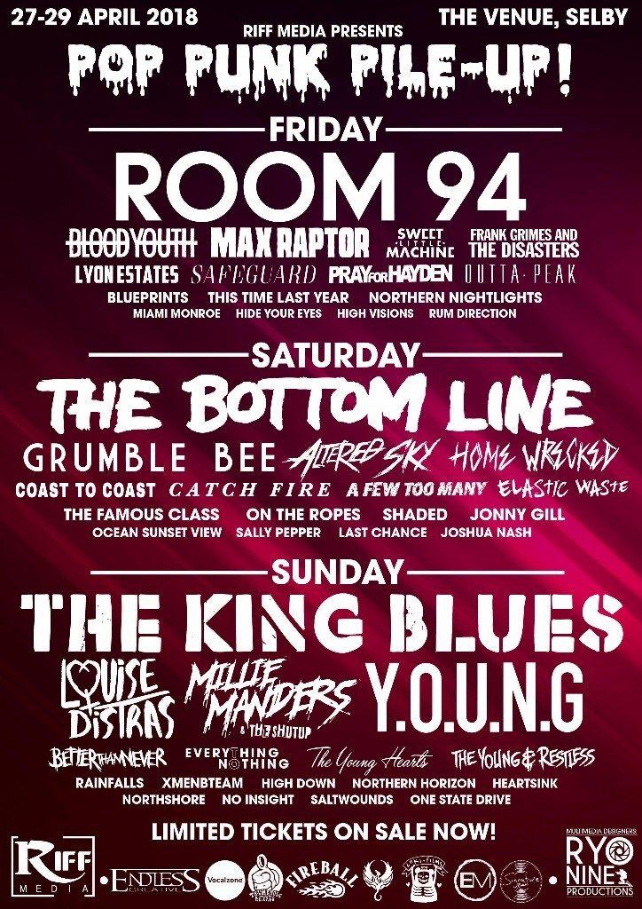 Pop Punk Pile Up Festival