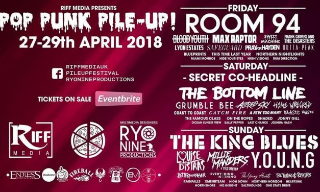 Pop Punk Pile Up Festival Reveals 2018 Line-Up