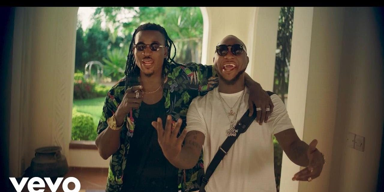 Ellyman – Cover Me ft. Davido (Official Music Video)