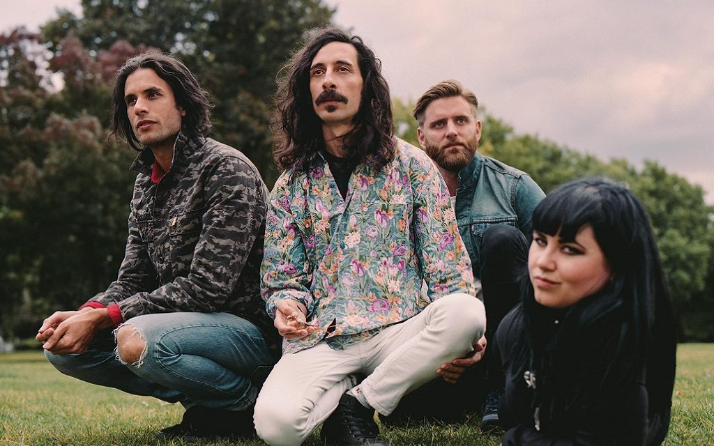 Turbowolf ft. Mike Kerr (Royal Blood) Release Lyric Video for 'Domino'