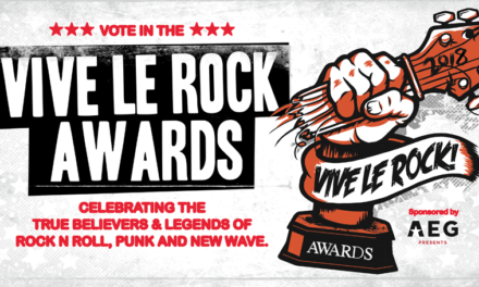 Vive Le Rock Presents the First 'Vive Le Rock Awards' Sponsored by AEG Presents
