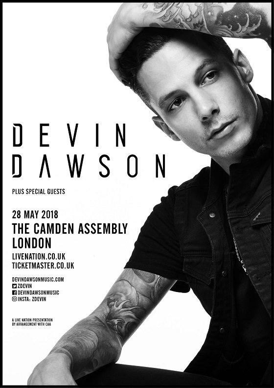 Devin Dawson - London - May 2018